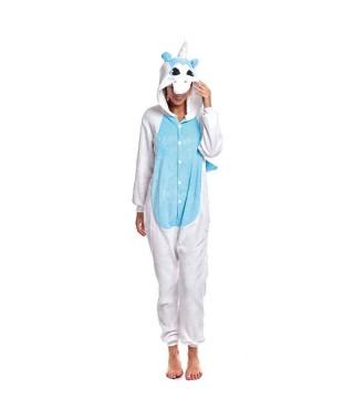 Disfraz Unicornio Azul adulto
