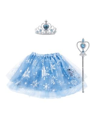 Conjunto Princesa Nieve (2 pcs)