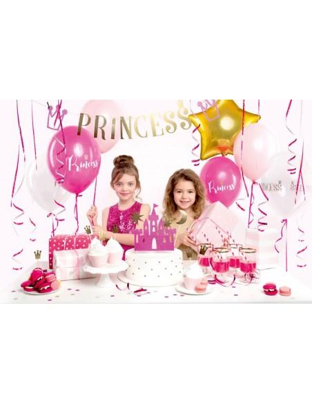 Set decoración cumpleaños Princess