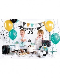 Set Cumpleaños Dinosaurios Fiesta Infantil