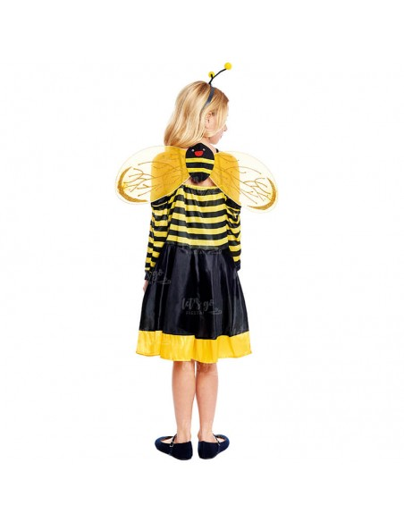 Disfraz de Abeja niña infantil para Carnaval
