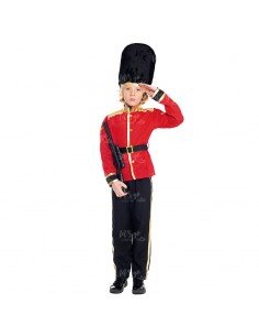 Disfraz Guardia Inglés niño infantil para Carnaval