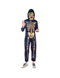 Disfraz Esqueleto Horripilante para niño