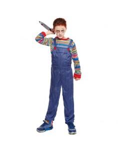 Disfraz Muñeco Asesino para niño