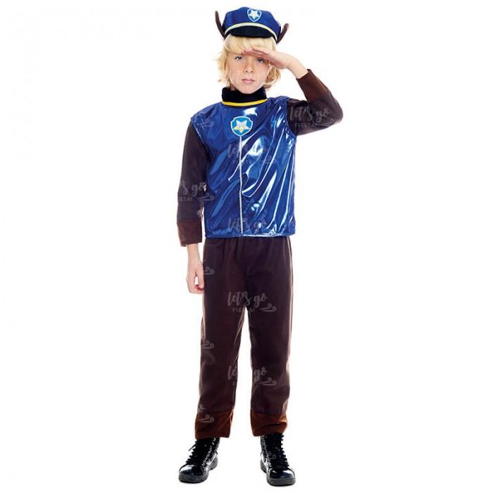 Disfraz Perro Policía para niño