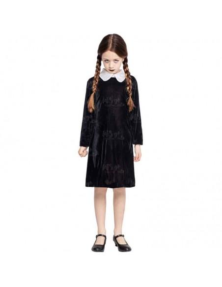 Disfraz Chica Rara para Niña Cosplay Miércoles