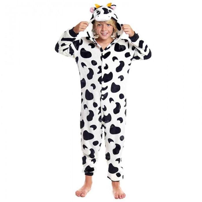 Disfraz pijama de Vaca infantil  para Carnaval