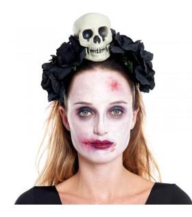 Diadema Skull & Roses