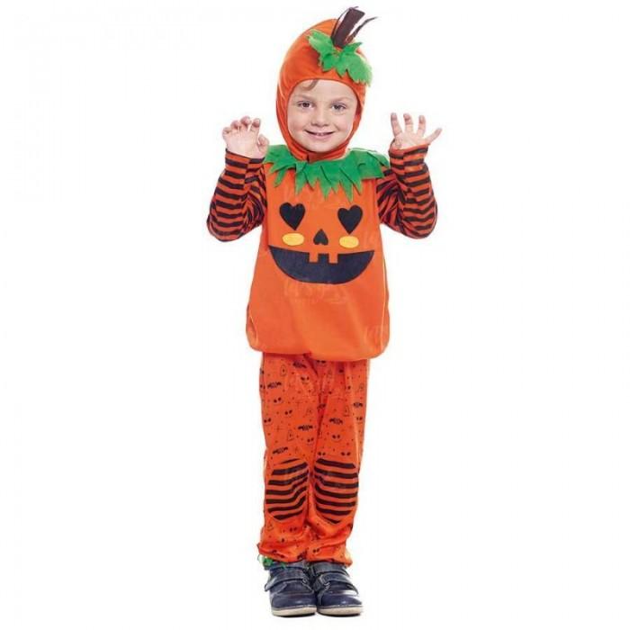 Disfraz Calabaza Rayas Bebé Pantalón Halloween