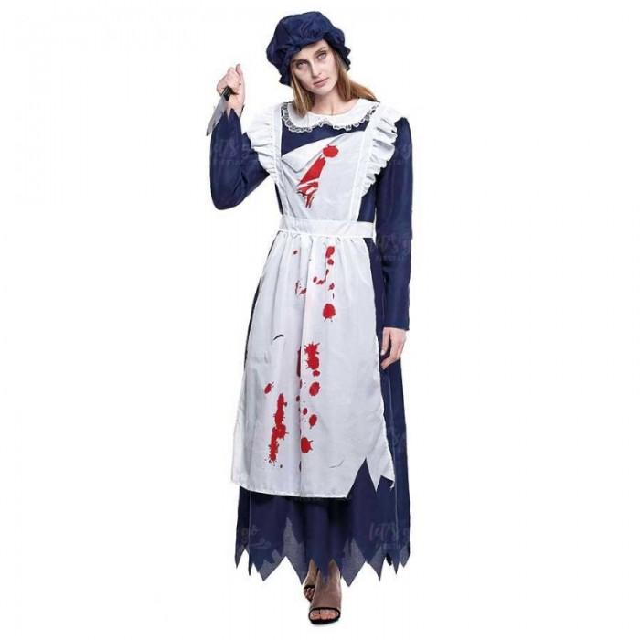 Disfraz Doncella Criada Fantasma Mujer