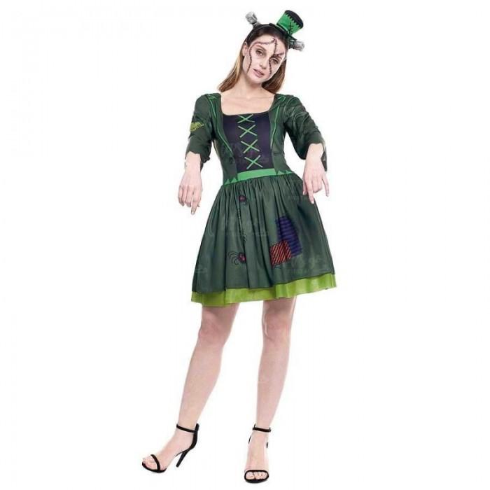 Disfraz Frankenstein Mujer Vestido