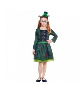Disfraz Frankenstein Niña Vestido