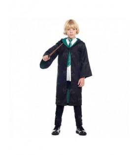 Disfraz Aprendiz Mago Verde Niños Cosplay Harry Potter