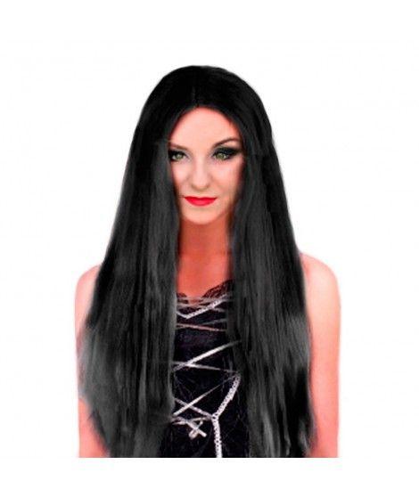 Peluca extralarga negra