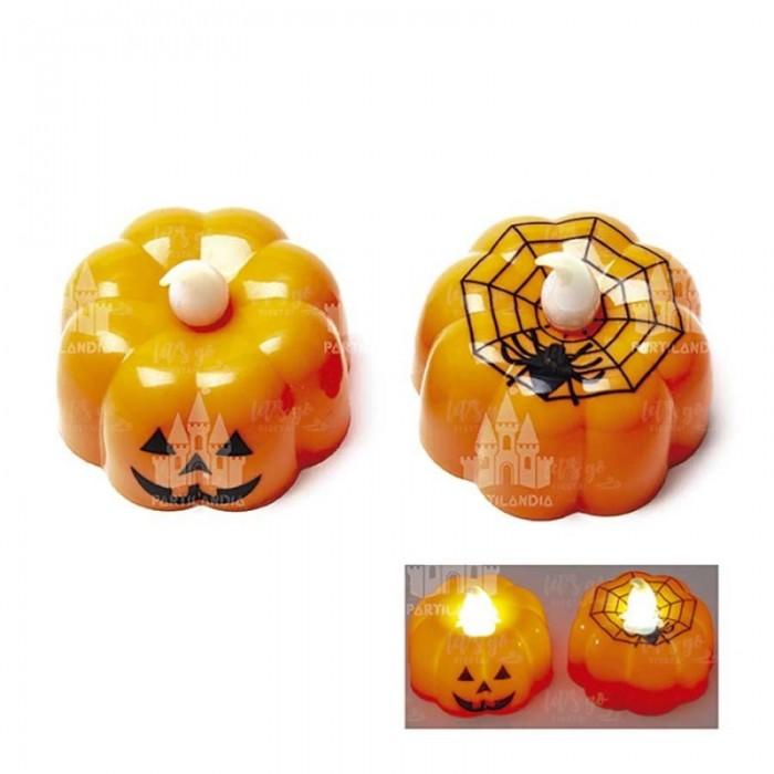 Velas LED Halloween Calabazas [3 Uds]