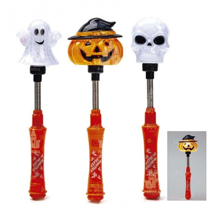Varita Halloween con Luz LED