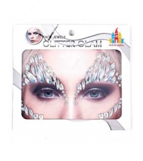 Pegatinas Faciales Gemas Joyas Tatuaje Cara Iceberg