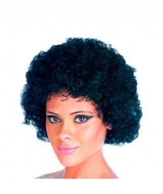 Peluca Afro morena (140g)