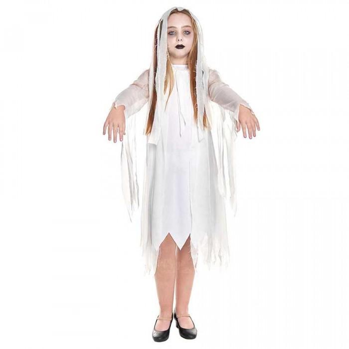Disfraz Fantasma niña infantil de Halloween