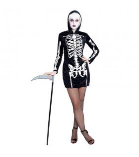 Disfraz Skull Girl Esqueleto para mujer