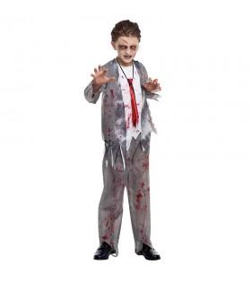 Disfraz Zombie Colegial para niño