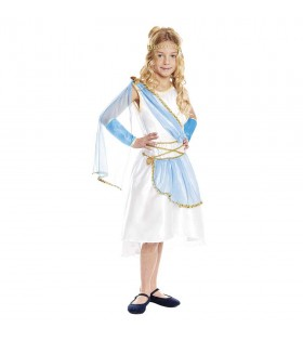 Disfraz Griega niña infantil para Carnaval