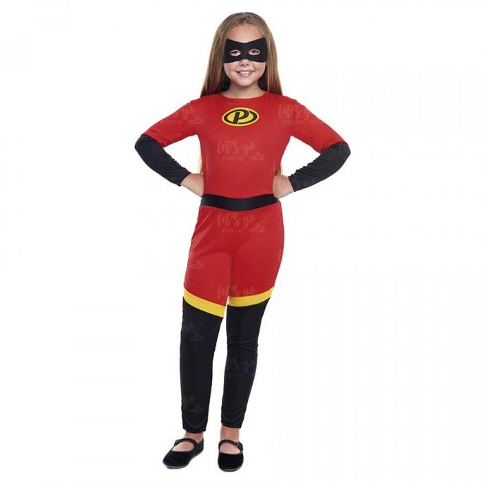 Disfraz Party Heroína para niña