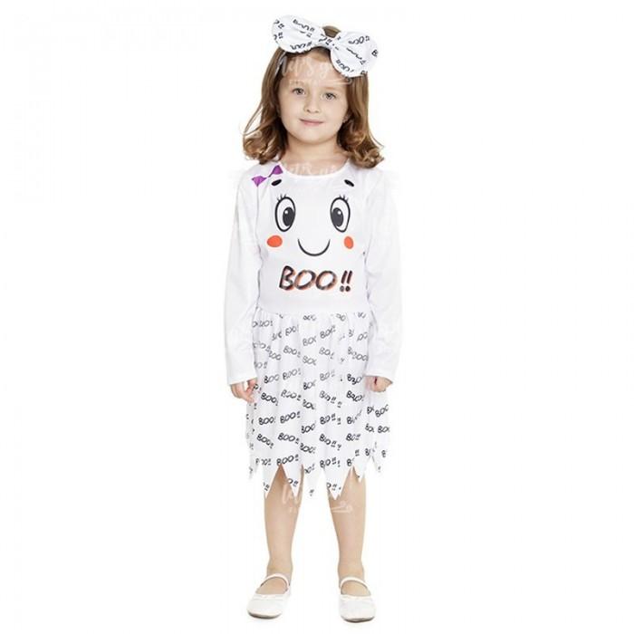 Disfraz Fantasma Boo Niña Bebé Vestido