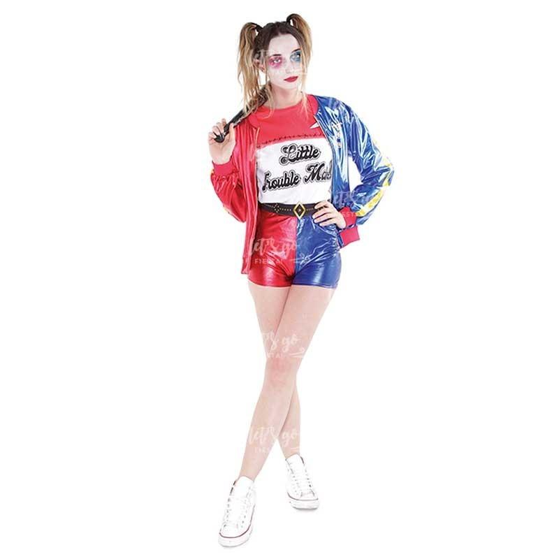 Disfraz Jokers Baby Mujer Pantalon Corto Envios 24 48 Hrs