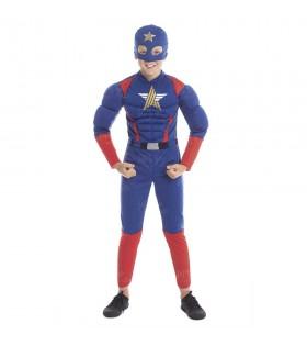 Disfraz Superhéroe Star Niño