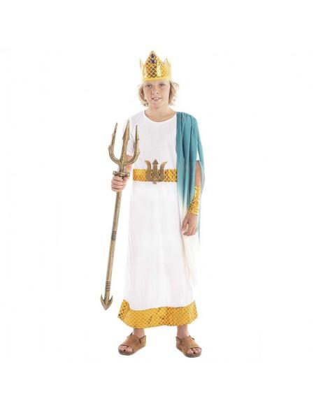 Disfraz Neptuno Romano Niño