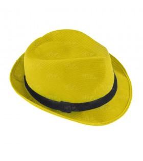 Sombrero con ala amarillo borsalino Fiesta