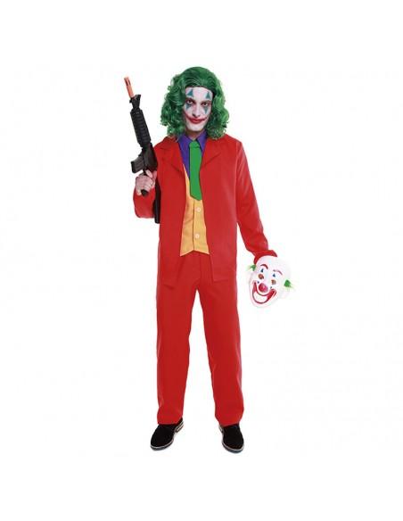 Disfraz Mad Clown Joker Hombre