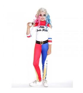 Disfraz Joker's Baby Largo Niña Cosplay Trouble Maker