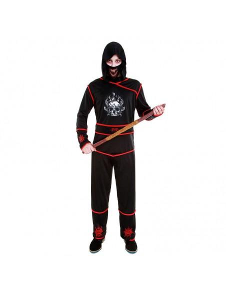 Disfraz Ninja Death hombre Carnaval Halloween