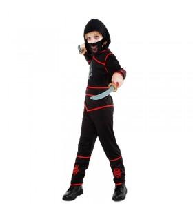 Disfraz Ninja Death Niño Carnaval Halloween