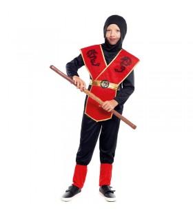 Disfraz Ninja Dragón niño infantil para Carnaval