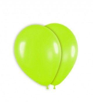 Globo Verde Lima Liso 25 cm (8 uds) Látex