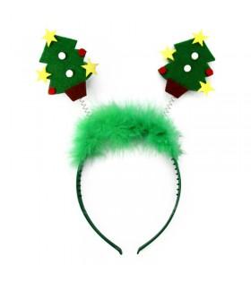 Diadema Árbol de Navidad Accesorio Disfraz