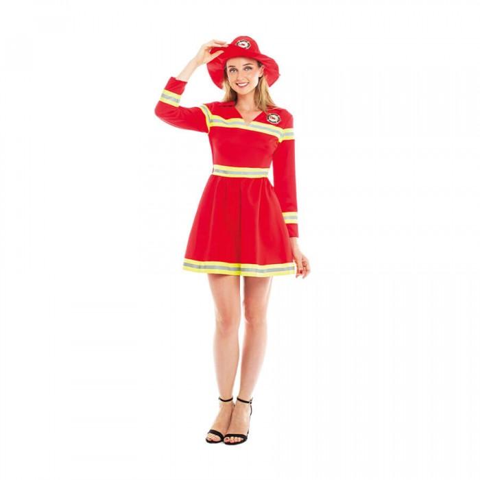 Disfraz Bombera Mujer para Carnaval