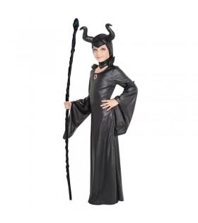 Disfraz Bruja Maléfica Niña...