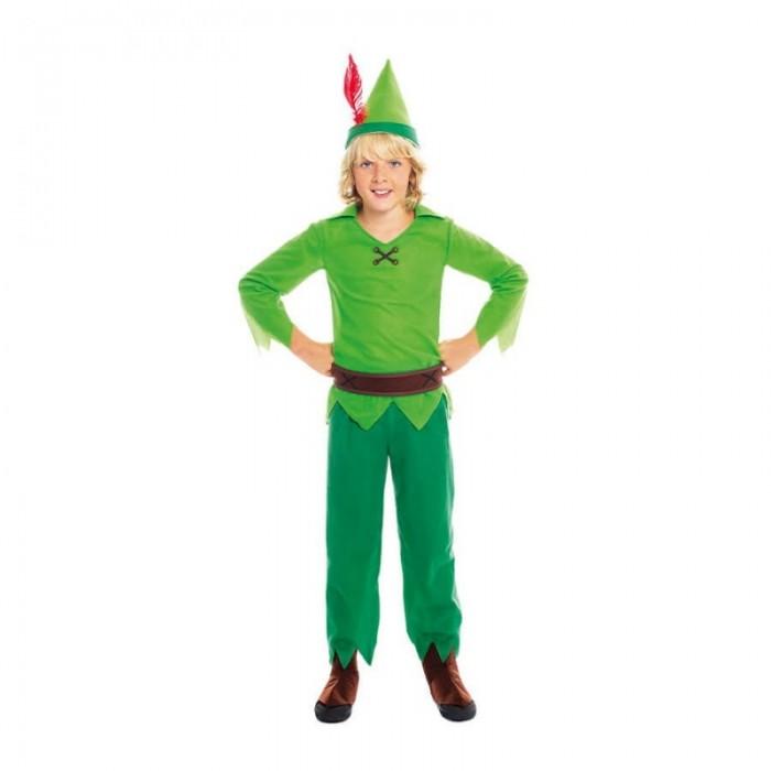 Disfraz Peter Pan Niño Nunca Jamás Carnaval