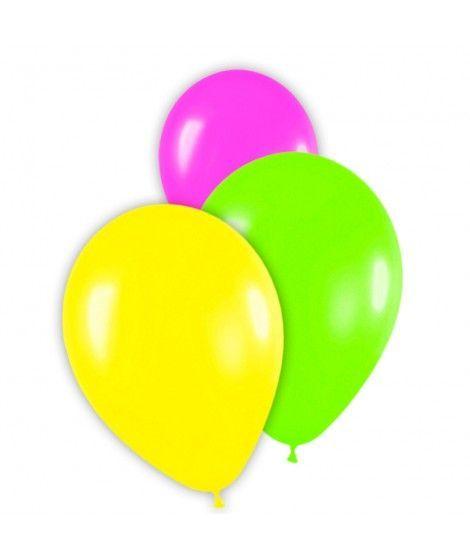 globos fluorescentes colores surtidos látex