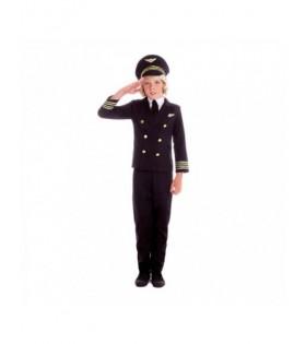 Disfraz Piloto de Avión Niño Carnaval