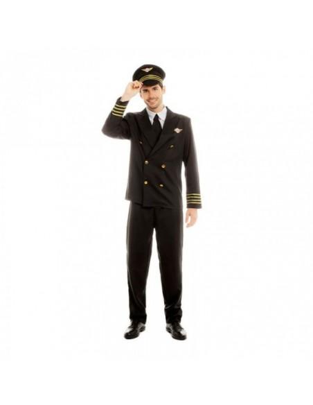 Disfraz Piloto de Avión Hombre Carnaval