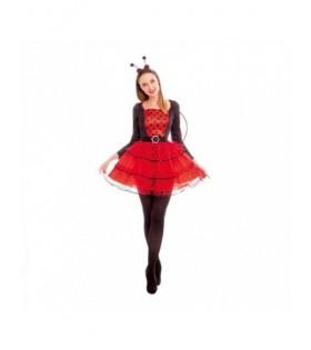Disfraz Mariquita Gordota Mujer Carnaval
