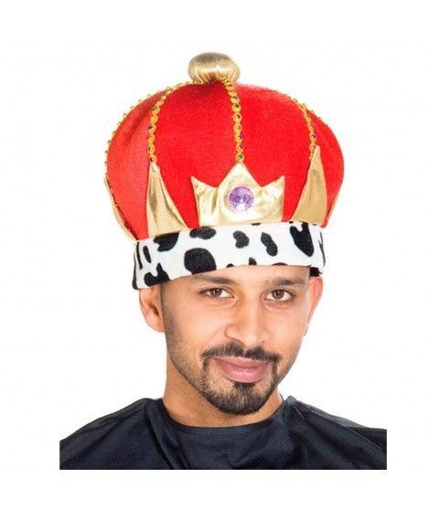 Gorro Corona Rey fiesta