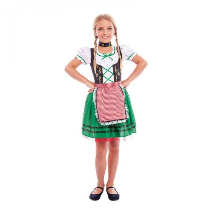 Disfraz Tirolesa Niña Oktoberfest Carnaval
