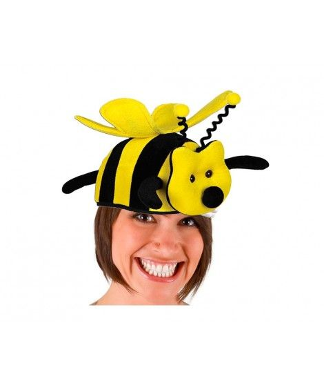 Gorro Animal Abeja Foam