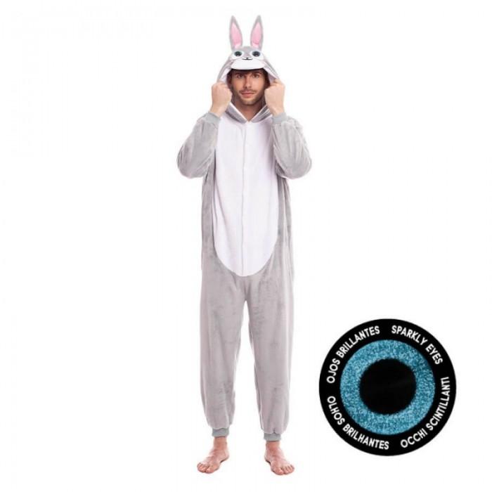 Disfraz Conejo Gris Adulto Carnaval
